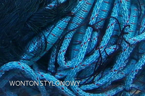 sieci rybackie, wontony, wonton żyłkowy, wonton stylonowy